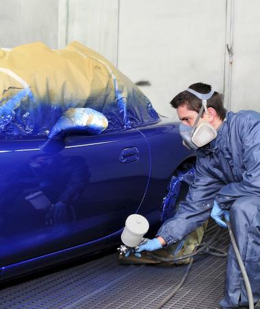 Подбор краски и покраска авто